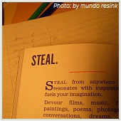 the word steal with definition